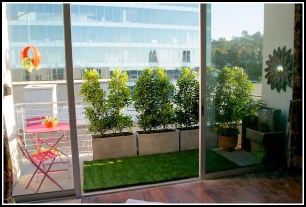 Sichtschutz Pflanzen Balkonkasten