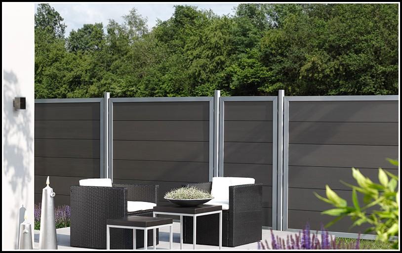 Sichtschutz Terrasse Wpc