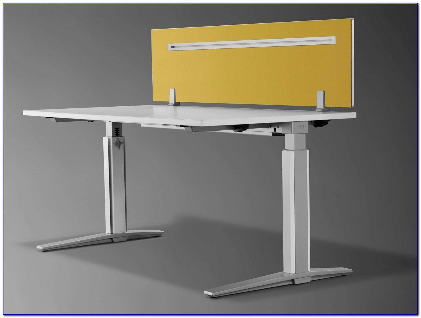 Sichtschutz Trennwand Schreibtisch