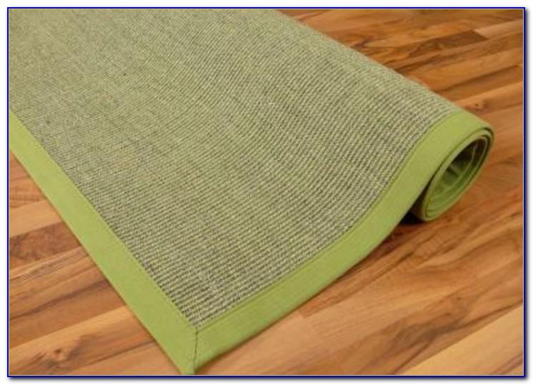 Sisal Teppich Grn