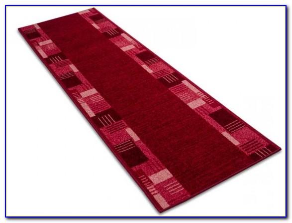 Sisal Teppich Läufer Rot