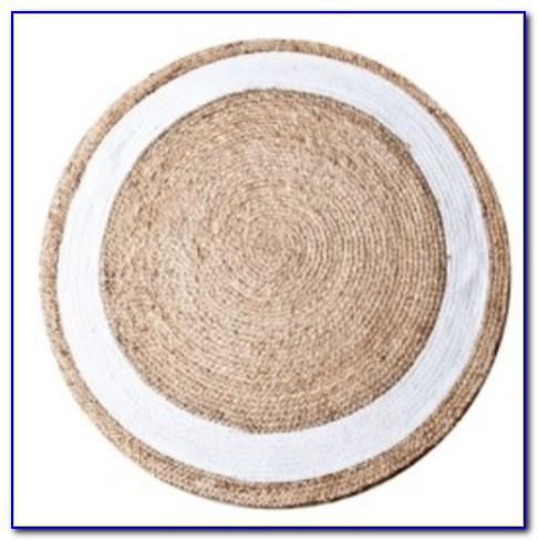 Sisal Teppich Weiß