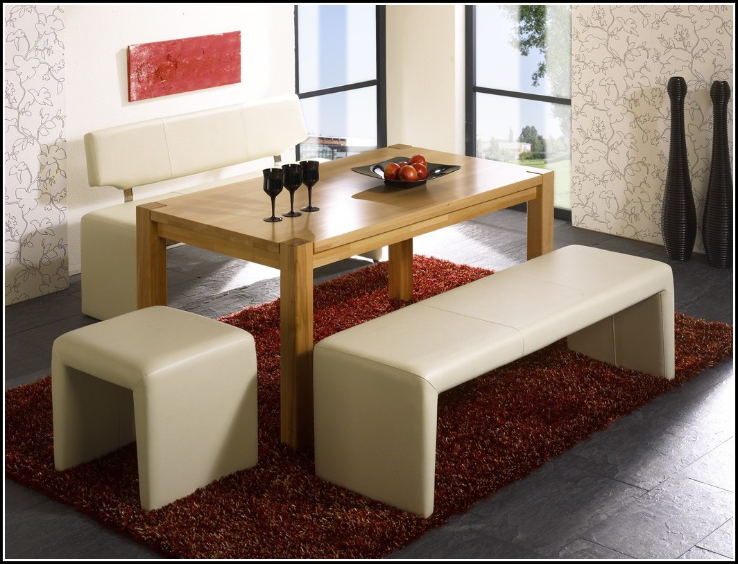 Sitzbänke Esszimmer Leder