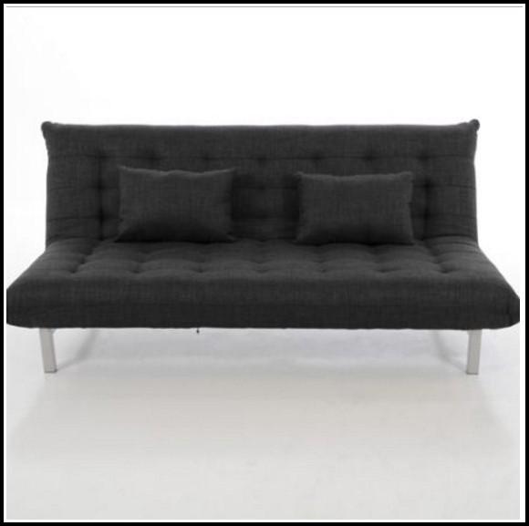 Sofa 2 Sitzer Schwarz