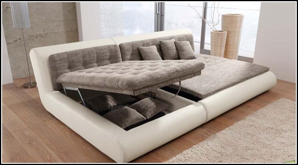 Sofa Mit Schlaffunktion Und Bettkasten Preisvergleich