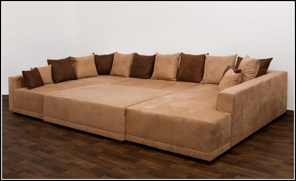 Sofa U Form Stoff