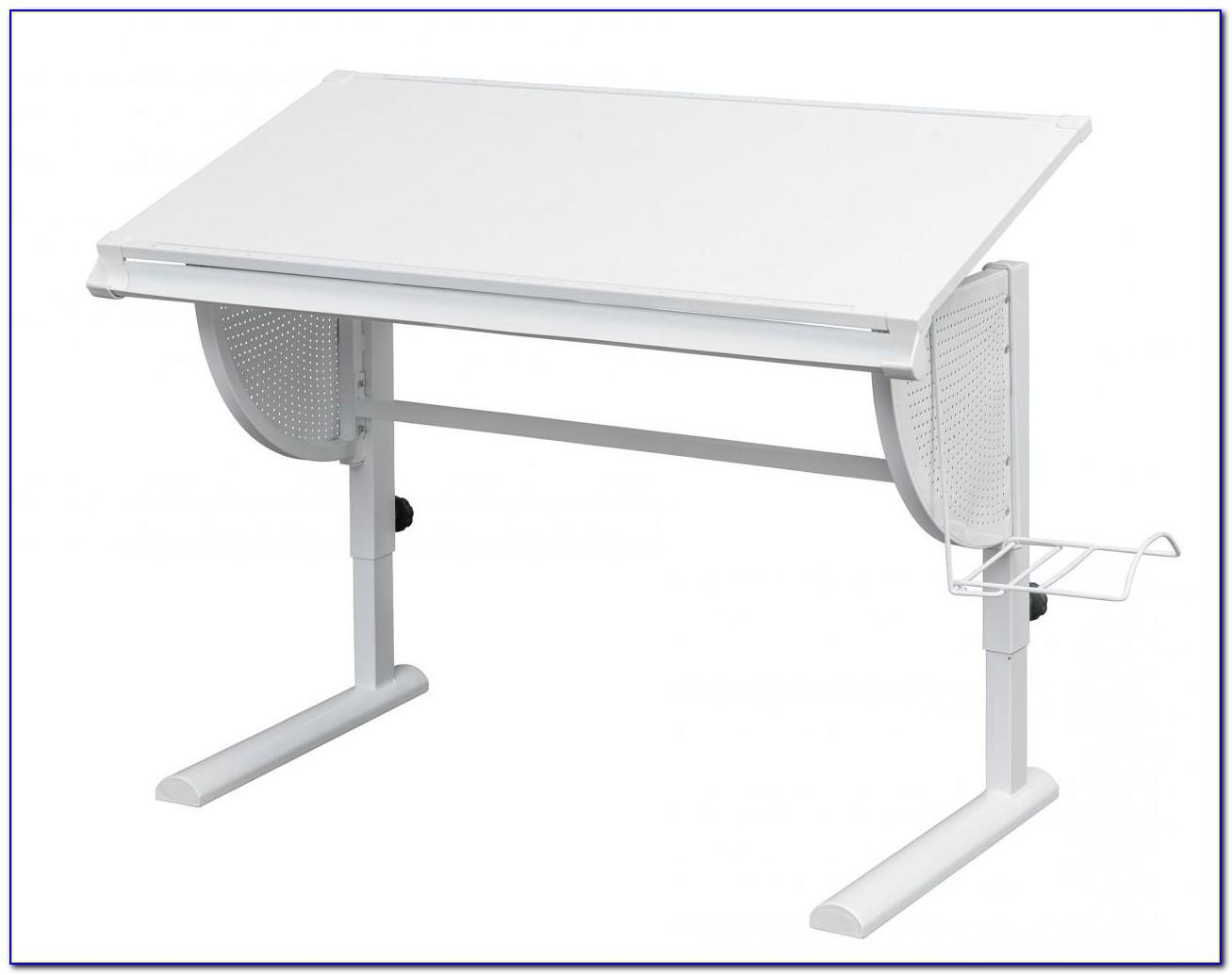 Soft Plus Schreibtisch Eiche