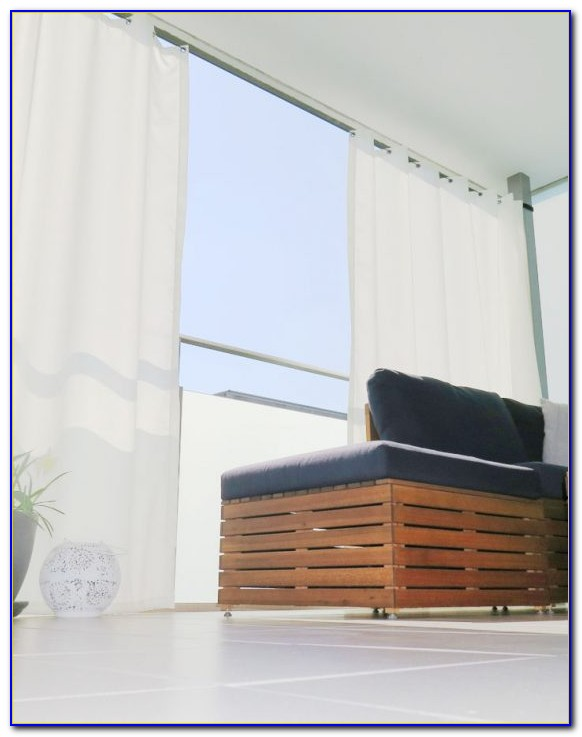 Sonnenschutz Vorhang Terrasse
