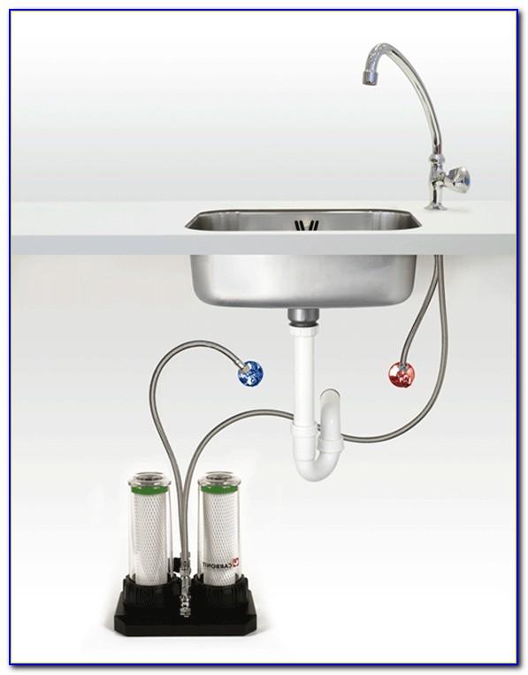 Spülbecken Wasserhahn Installation