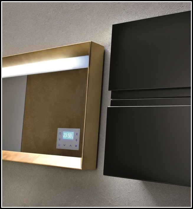Spiegel Mit Ablage Und Beleuchtung