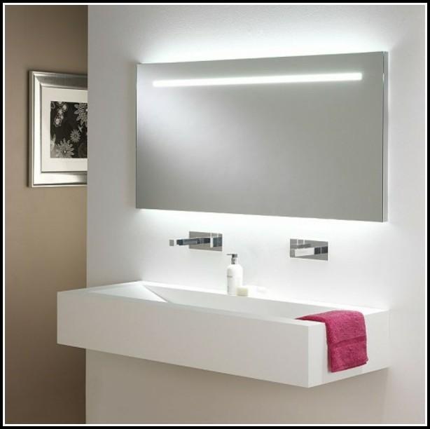 Spiegel Mit Led Beleuchtung Und Intr. Kosmetikspiegel 80x60cm