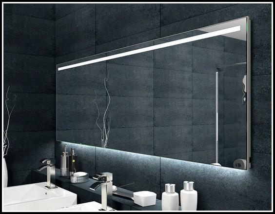 Spiegel Mit Led Beleuchtung Und Uhr 09031
