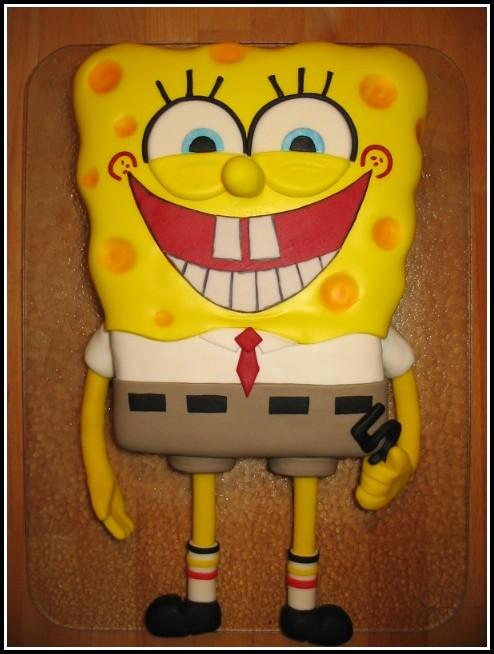 Spongebob Kuchen Rezept Ohne Marzipan