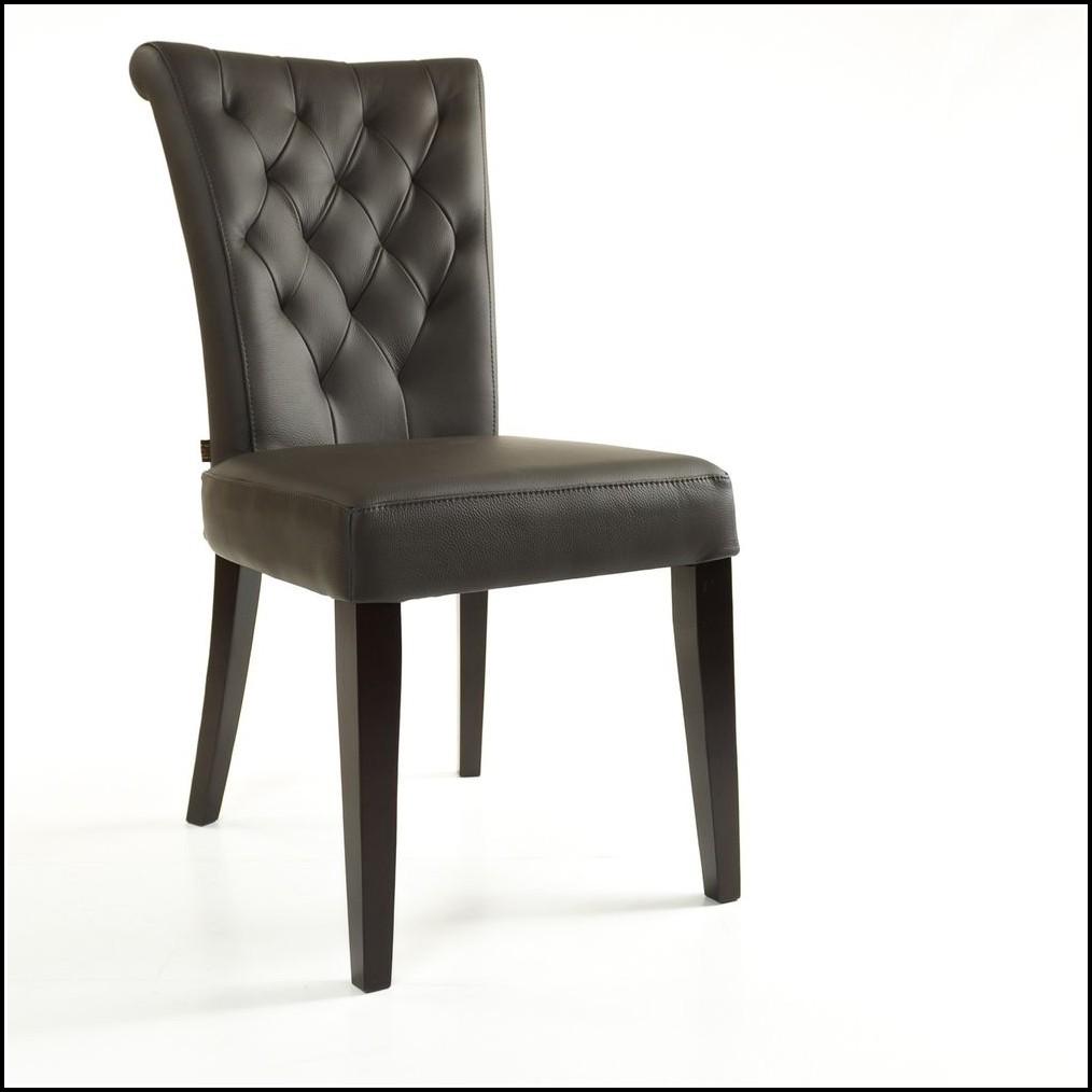 Stühle Leder Esszimmer