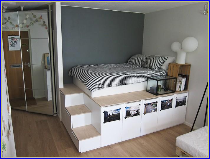 Stauraum Bett Ikea