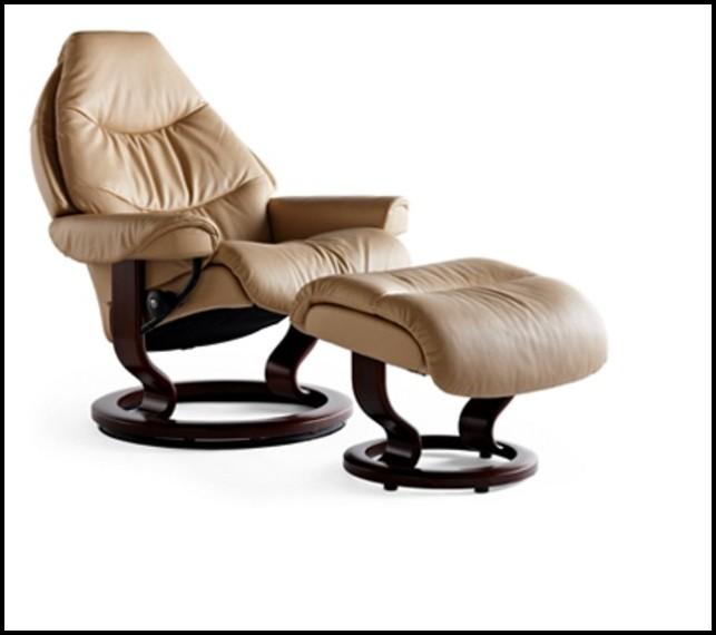 Stressless Sessel Modell Reno Mit Hocker