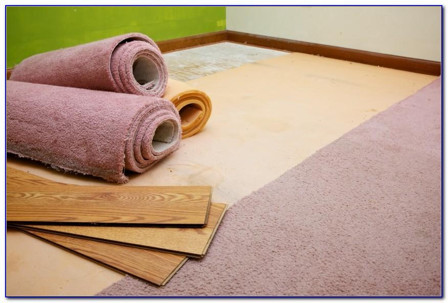 Teppich Auf Laminat Verlegen