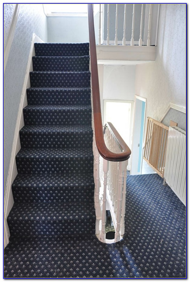 Teppich Läufer Auf Treppe Verlegen