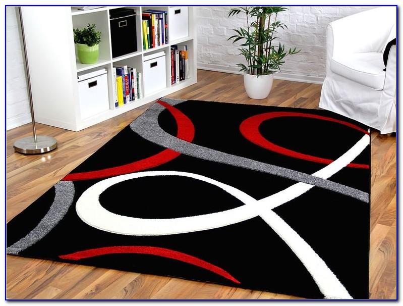 Teppich Rot Weiß