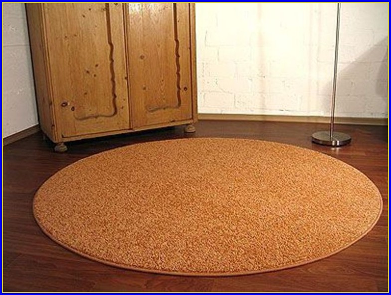 Teppich Rund 160 Terracotta