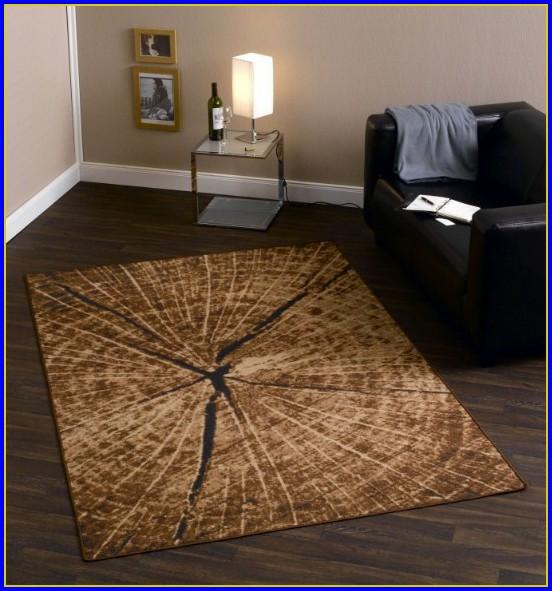 Teppich Rund 160 Weiß