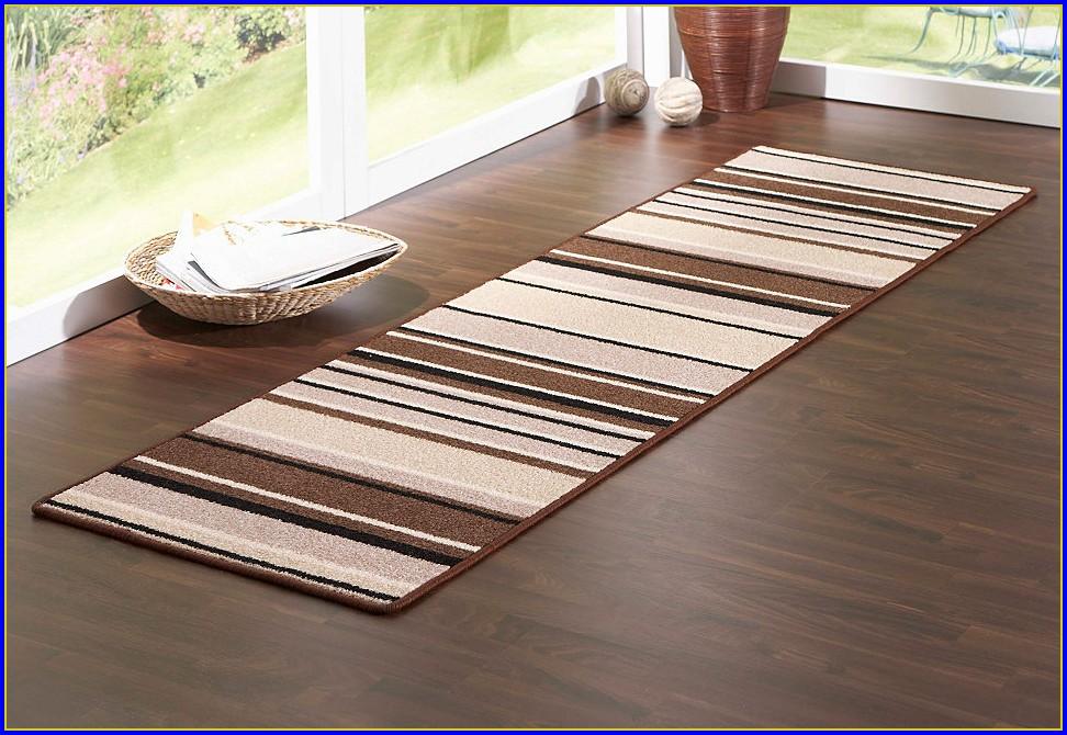 Teppich Rund Braun Beige