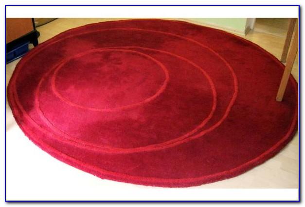 Teppich Rund Rot Ikea