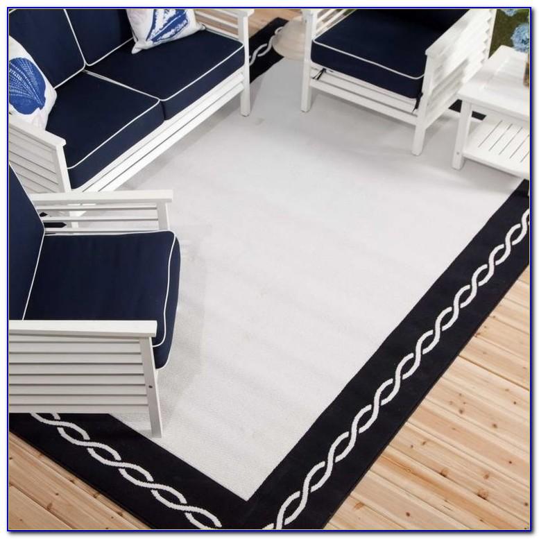 Teppich Schwarz Weiß Zick Zack