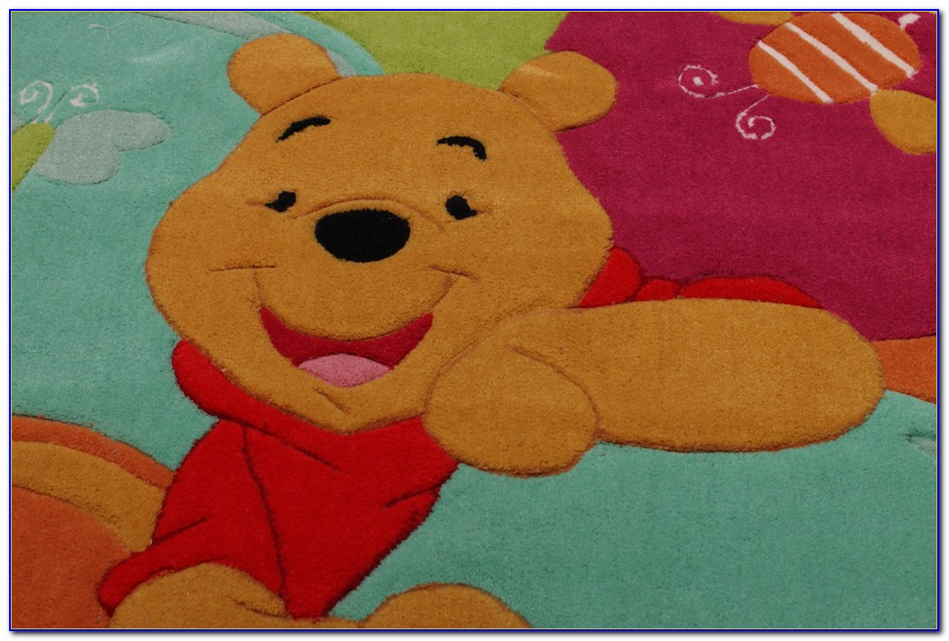 Teppich Winnie Pooh Rund