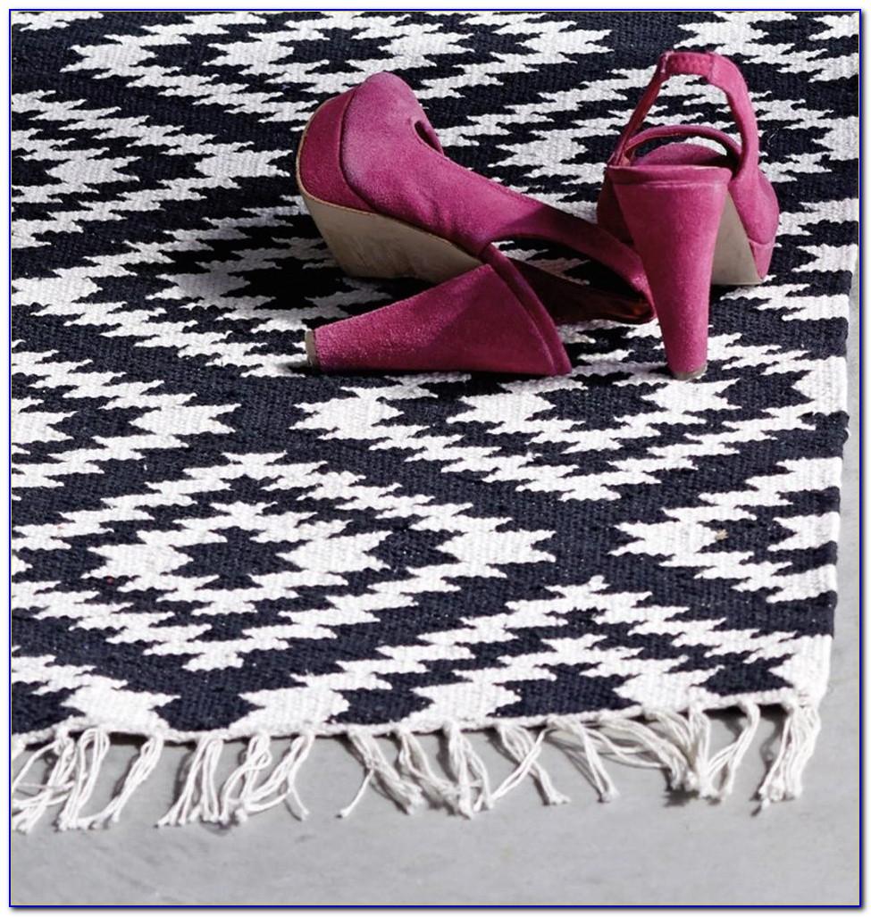 Teppiche Schwarz Weiß