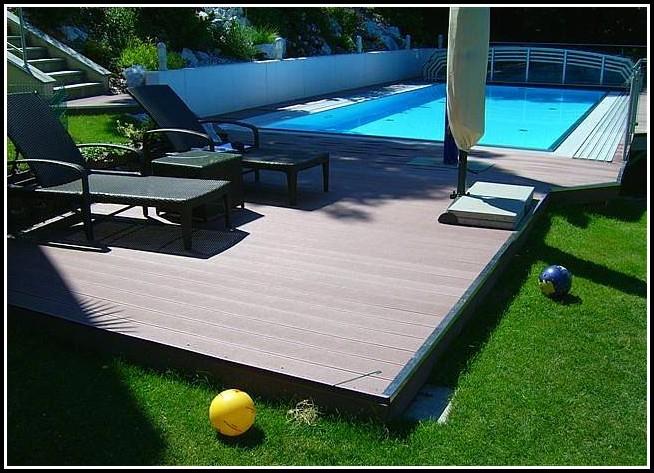 Terrasse Aus Holz Kunststoff Verbund