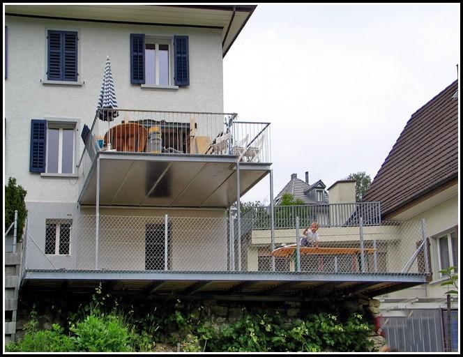 Terrasse Aus Stahl Selber Bauen