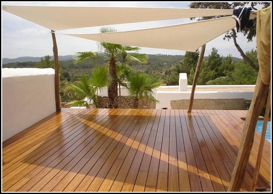 Terrasse Bauen Holz Fundament
