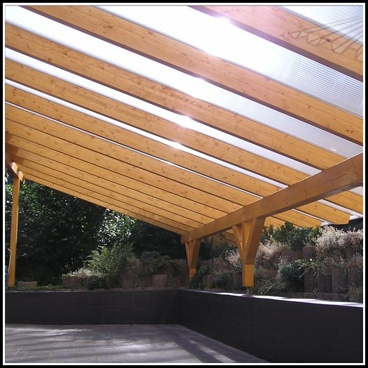 Terrasse Bauen Holz Unterkonstruktion