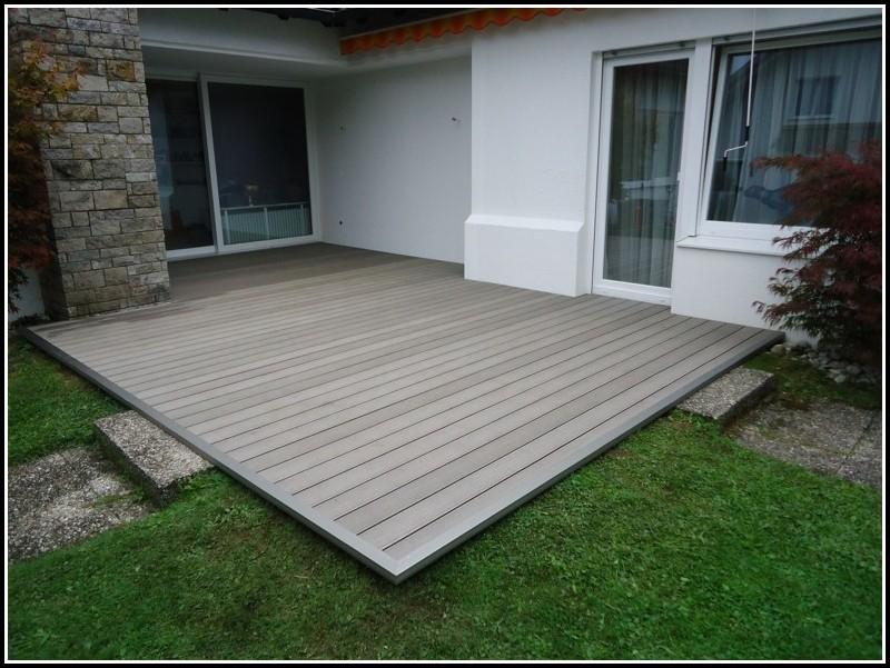 Terrasse Holz Kunststoff Verbund