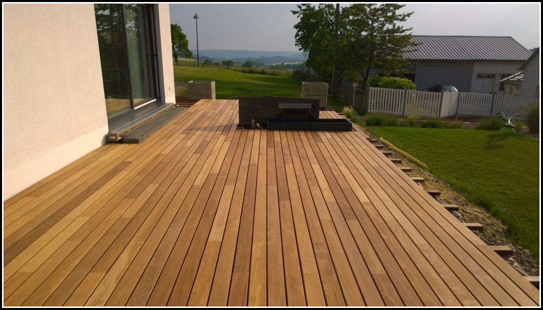Terrasse Holz Unterkonstruktion Bauanleitung