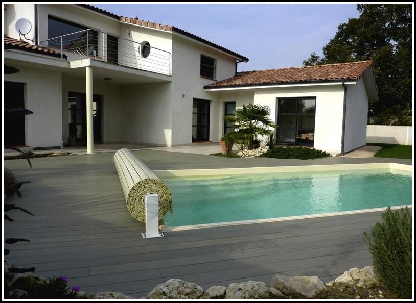 Terrasse Kunststoff Holzoptik