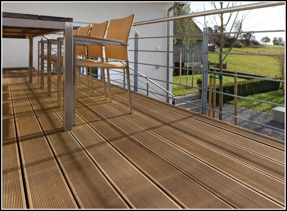 Terrasse Mit Holz Verlegen