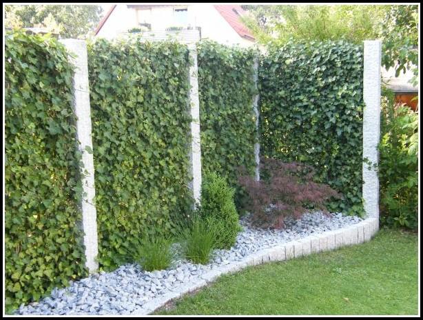Terrasse Sichtschutz Holz