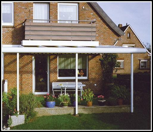Terrassenüberdachung Alu Glas Bausatz