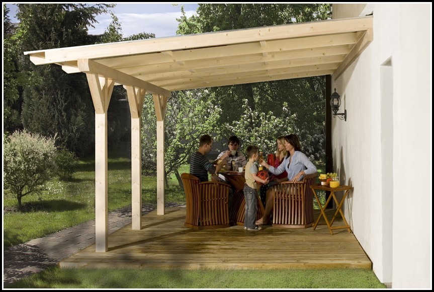 Terrassenüberdachung Aus Holz Bausatz