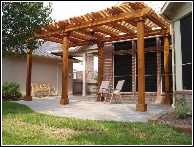 Terrassenüberdachung Aus Holz Mit Glasdach