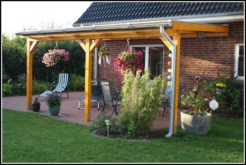 Terrassenüberdachung Aus Holz Selbst Bauen