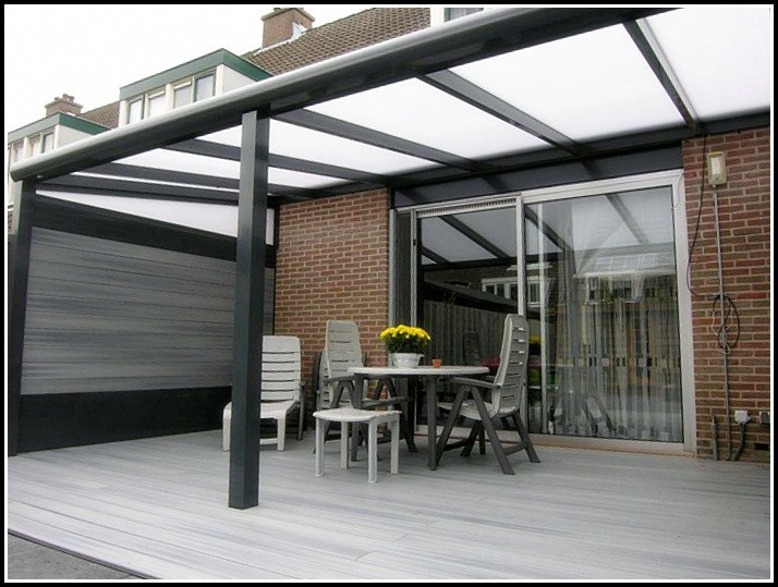 Terrassenüberdachung Bausatz Alu Vsg