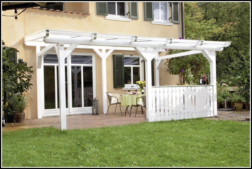 Terrassenüberdachung Bausatz Aluminium