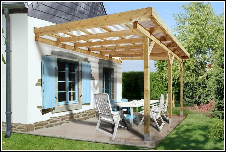 Terrassenüberdachung Bausatz Glas