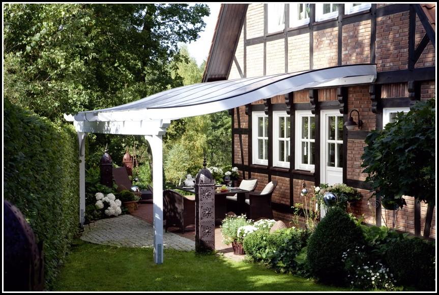 Terrassenüberdachung Bausatz Stahl