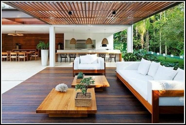 Terrassenüberdachung Holz Glas Selber Bauen