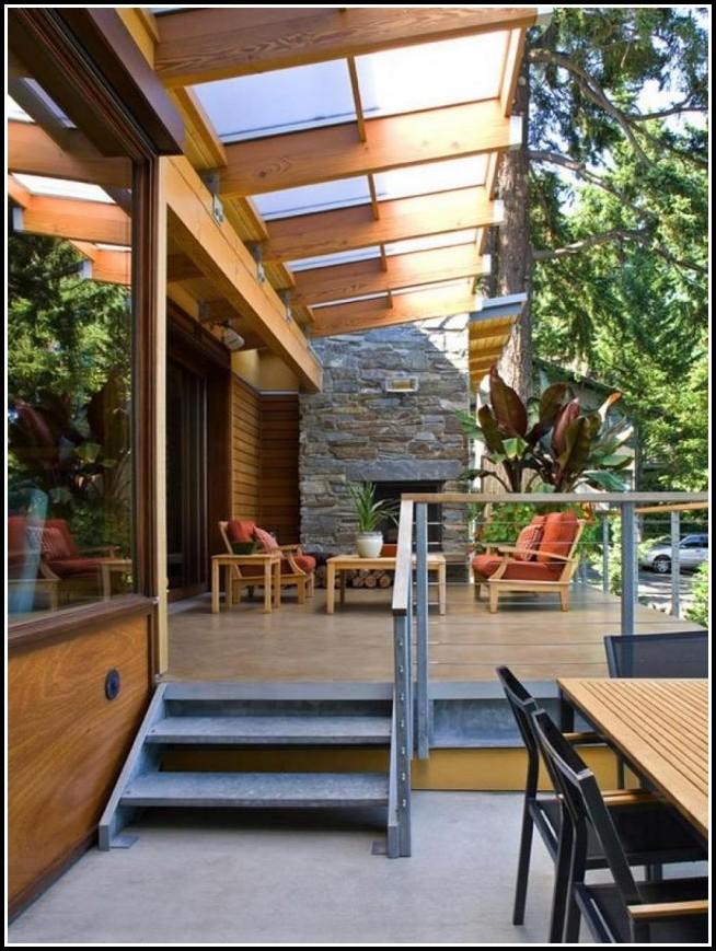 Terrassenüberdachung Holz Mit Glas