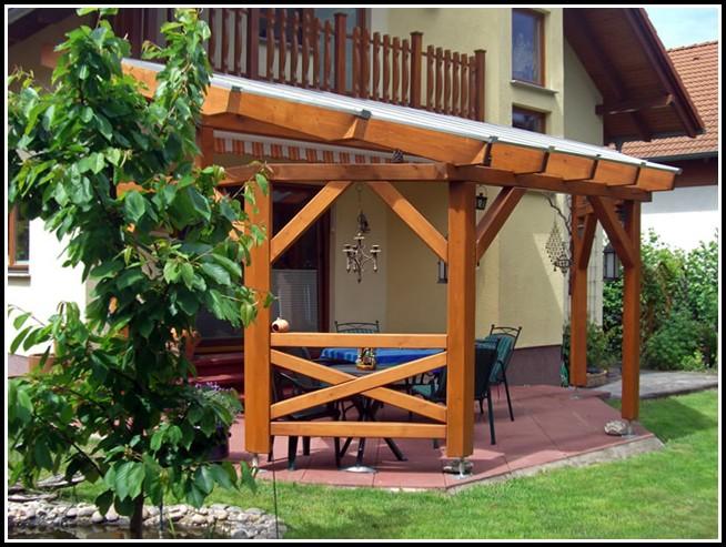 Terrassenüberdachung Holz Selbst Bauen